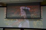 """Неприятие окружающего света на стене висел экран проектора 100"""" для домашнего кинотеатра"""