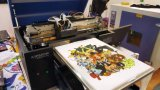 A3 Flatbed Oplosbare Printer van de T-shirt Eco