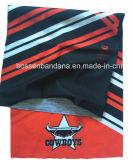 中国の工場OEMの農産物はロゴによって印刷されたポリエステルスノーボードのスポーツ多機能のHeadwearをカスタマイズした