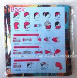 I prodotti della fabbrica della Cina hanno personalizzato il Bandanna senza giunte tubolare multifunzionale del poliestere della stampa del fumetto
