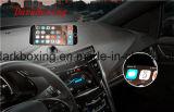 Cargador sin hilos móvil universal elegante del coche del teléfono celular con el adaptador dual del USB