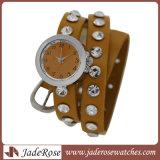 Polshorloge van de Band van het Leer van de Manier van de Stijl van de Verkoop van het horloge het Gehele Nieuwe