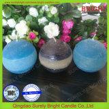 Das Geschenk, das drei Farben packt, überlagerte die duftende Kugel-Kerze, die in China hergestellt wurde