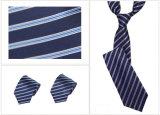 La mejor corbata del cortocircuito de la raya de la calidad