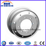 o reboque do caminhão 3t parte as bordas de alumínio das rodas da liga da roda para Semi o reboque