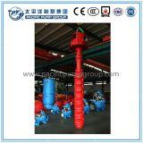 Alta capacidade de turbina vertical elétrica da bomba de água