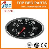 800 f-Edelstahl BBQ-Gitter-Thermometer