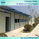Schnelles Montage-Stahlrahmen-temporäres Haus in der Arbeits-Site