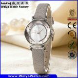형식 가죽끈 석영 숙녀 손목 시계 (Wy-094C)