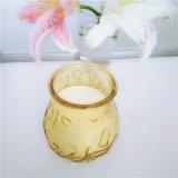 Il fornitore della candela della Cina ha reso a supporto di vetro le candele esterne della citronella