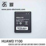 Batterie initiale de téléphone mobile pour Huawei Y100 Ideos U8150 U8160 U8180 V845 C8500s Hb4j1h