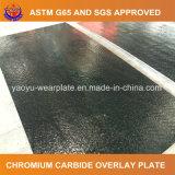 Desgaste - placa resistente del recubrimiento del carburo del cromo de la aleación