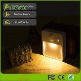 la notte del sensore di movimento 0.5W illumina l'indicatore luminoso ricaricabile per il corridoio, l'armadio, camera da letto del Governo del USB LED