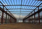 Estructura de acero prefabricada taller metalúrgico edificio con un bajo coste