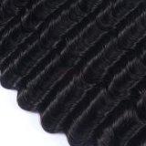 Vague profonde vierge péruvien Remy Weave perruque de cheveux humains