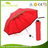 折られる熱い販売の普及した女性傘の製造業者を広告する中国