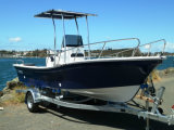 Liya Vissersboot van de Motor van 20 of 25 Duim de Gebruikte Gas