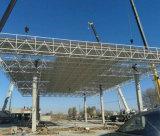 De geprefabriceerde Luifel van het Benzinestation met de RuimteSystemen van het Dakwerk van de Structuur van het Frame