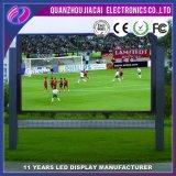 Schermo di P10 LED per lo stadio e la pubblicità di gioco del calcio