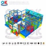 Oefening die de Speelplaats van de Kinderen van de Apparatuur beklimmen