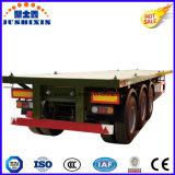 carro del chasis del cargamento del envase de los 20-40FT semi plegable el acoplado