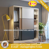 Precio razonable laminados correderas armario de diseño de Singapur (HX-8ND9600)