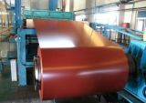 Farbe-Überzogener Shandong galvanisierte Stahlring-Rolle für Fliese-Dach