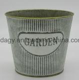 印刷された電流を通された鉄の金属の植木鉢