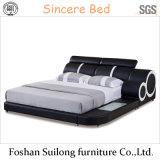Американская кровать Lb824 кожи типа
