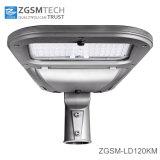 Fácil instalación y mantenimiento de 120 vatios Calle luz LED con 7 años de garantía