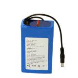12V recargable 6600mAh Batería de litio de 18.650 de luz LED