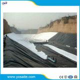 Niet-geweven Geotextile versterkte Samengestelde HDPE/LDPE Geomembrane voor Stortplaats