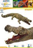Jouet élevé de forme d'alligator de PVC d'Imaitation