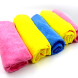 China Manufactures Hot Sale Black Microfiber Cleaning Cloth