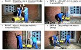 Китай Авто бетонных блоков стены штукатурка рендеринга подачи пищевых веществ машины