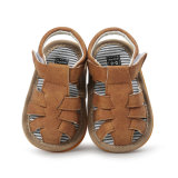 Moccasins младенца кожаный, сандалий лета PU ребёнков Neband ходоки младенческих кожаный резиновый единственных первые