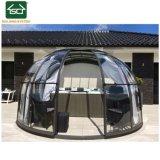 Châssis en aluminium de sécurité personnalisé SPA Boîtier d'hiver de toit en polycarbonate