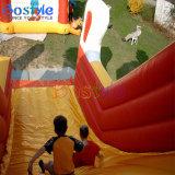 幸せな道化師子供の屋内スライドのための膨脹可能な水スライド
