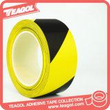 Pegamento de caucho personalizado de advertencia de aislamiento de PVC Cinta adhesiva