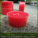 Grosse Aroma Tealight Kerze im freien Plastikcup