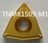Inserção de giro do carboneto da casca de TNMX