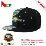 昇進の帽子の習慣5のパネルの刺繍によって印刷される急な回復の帽子の帽子