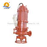 Nicht verstopfende versenkbare Abwasser-Pumpe für grosse Partikel