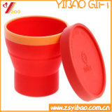 Изготовленный на заказ циновка чашки силикона для выдвиженческих подарков