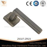 Levier de zinc de meubles de haute performance poignée sur le carré rose (Z6327-ZR23)
