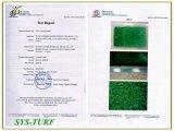 Grama artificial Certificated pelo GV para sua vida verde