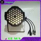 54X3w DMXは販売のための白いLEDの同価ライトを暖める