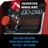Ce convertisseur approuvé 180amp soudeur à arc de soudure MMA de la machine de soudage