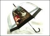 충분히 선전용 숙녀를 인쇄하는 Umbrella 가득 차있는 수동 기계