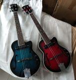 Qualité Ukulele électrique bleu Ju-02bb de jazz de 26 pouces